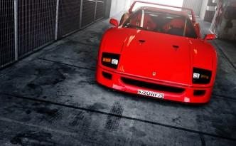 Ferrari F40 Le Mans Alexis Goure